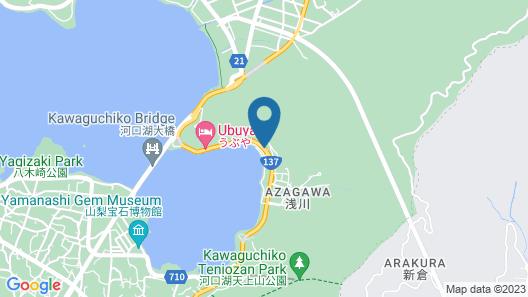 Hotel Mifujien Map