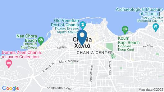 Arkadi Hotel Map