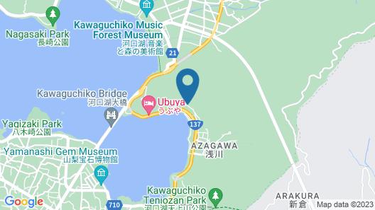Mizno Hotel Map