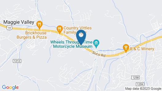 Travelowe's Motel Map