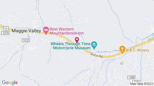 Comfort Inn near Great Smoky Mountain National Park Map