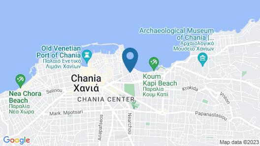 Kriti Hotel Map