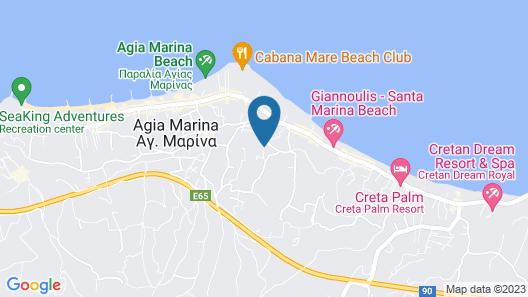 Folia Apartments Map