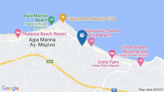 Iolida Beach Map