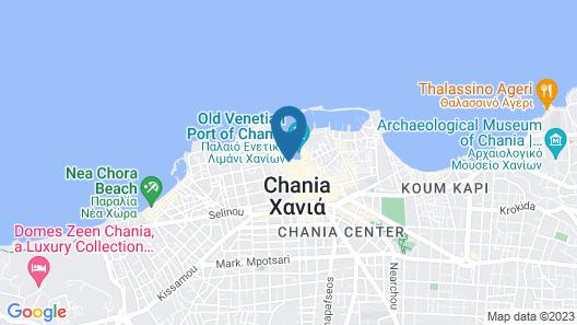 Hotel Porto Antico Map