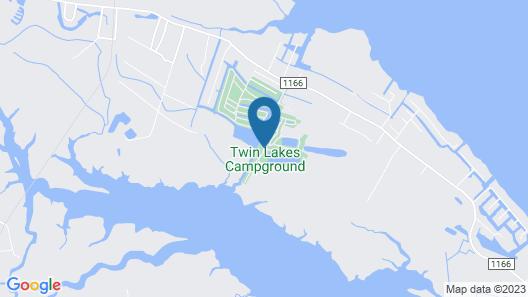 Twin Lakes RV & Camping Resort Map
