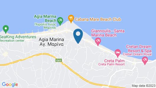 Dore Hotel Map