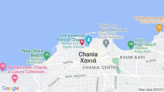 Casa Delfino Hotel & Spa Map
