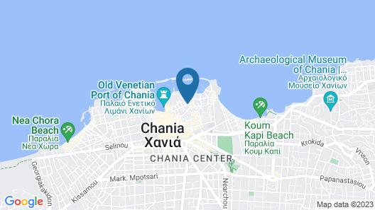 Kasteli Suites Map