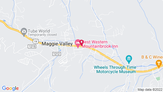 Quality Inn & Suites Maggie Valley - Cherokee Area Map