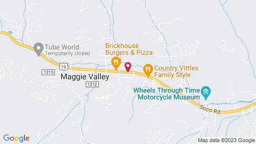 Best Western Mountainbrook Inn Map