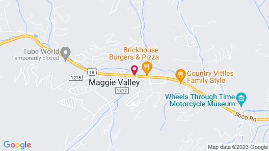 Ramada by Wyndham Maggie Valley Map