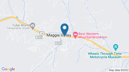 Ramada by Wyndham Maggie Valley Map