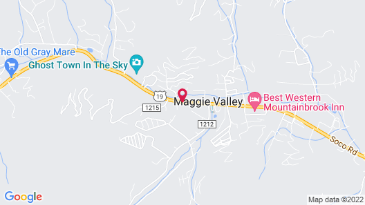 Jonathan Creek Inn and Villas Map