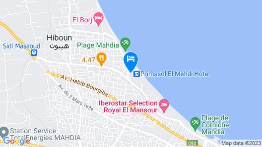 Primasol El Mehdi Map