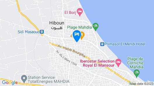 Mahdia Place Apartments Map