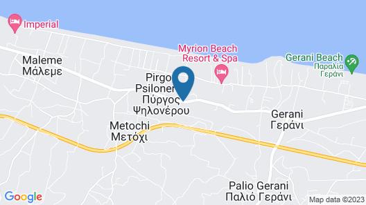 Solimar Aquamarine Resort Map