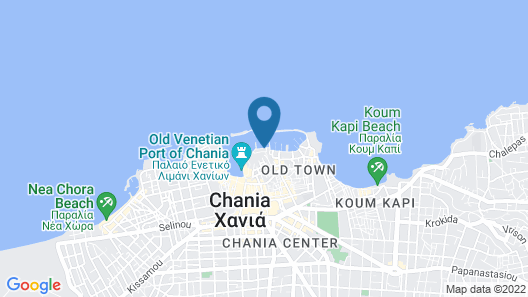 Ambassadors Residence Boutique Hotel Chania Map