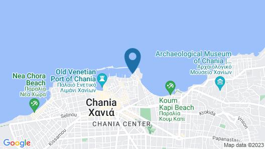 Porto Veneziano Hotel Map