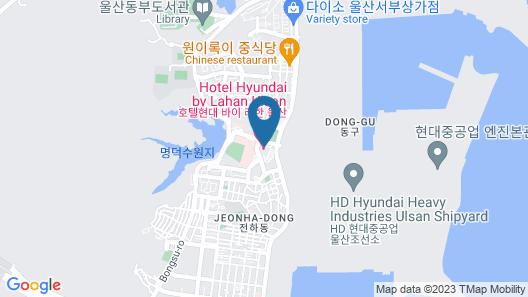 Hotel Hyundai by Lahan Ulsan Map