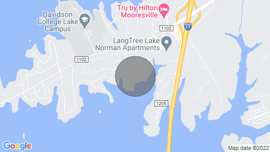 Unique Cozy Home With Lake Norman Views Map
