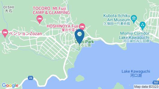 Kawaguchiko Urban Resort Villa Map