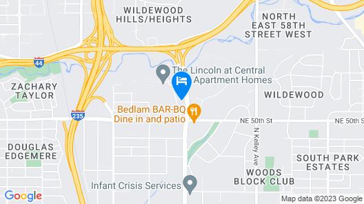 OYO Hotel Oklahoma City Lincoln Blvd Map
