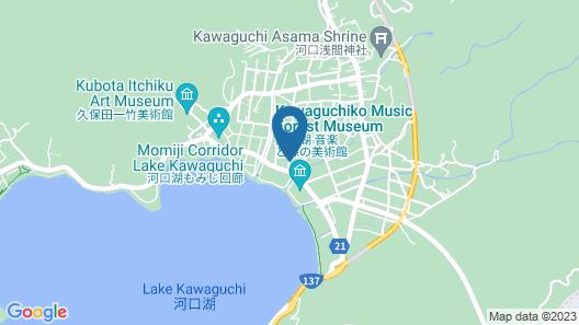 Kawaguchiko Cottage minami Map