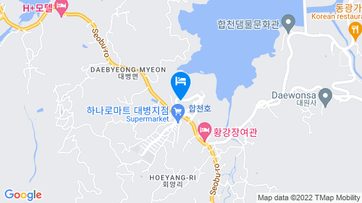Hapcheonho View Smile Pension Map