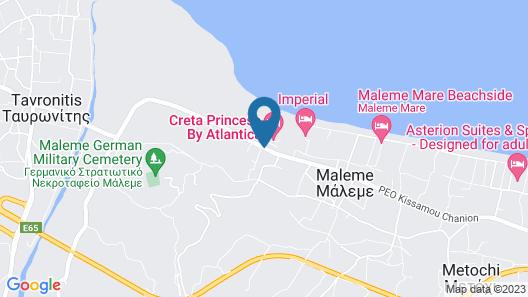 Creta Princess Aquapark & Spa Map