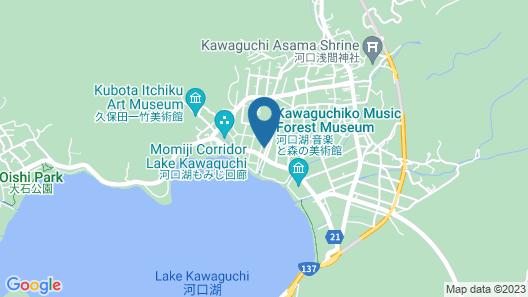 Cottage Yushin Map