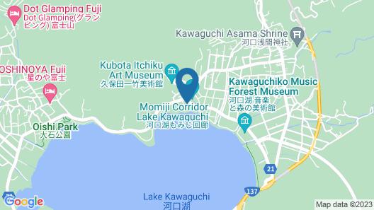 Shuhoukaku Kogetsu Map