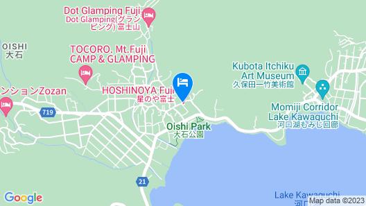HOSHINOYA Fuji Map