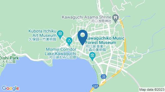 Villa Yushin Map