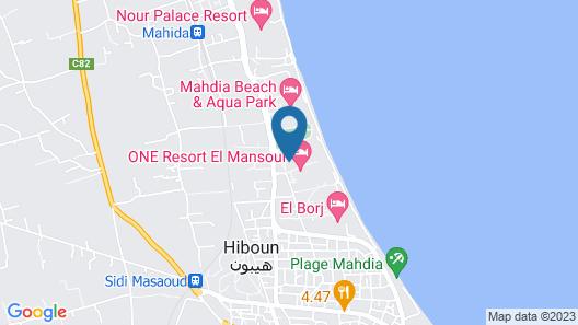 Vincci El Mansour Map