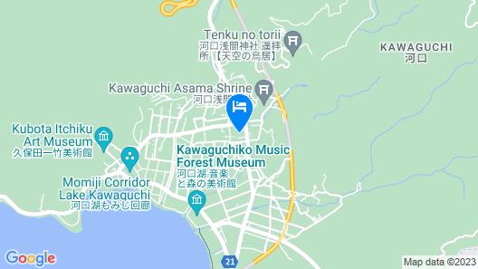 Fufu Kawaguchiko Map