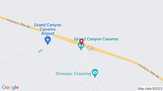 Grand Canyon Caverns Inn Map