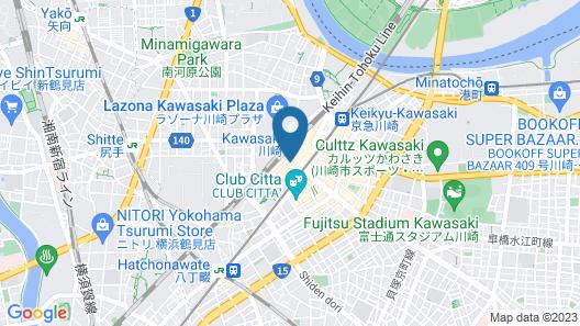 Kawasaki Nikko Hotel Map