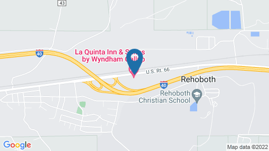 La Quinta Inn & Suites by Wyndham Gallup Map