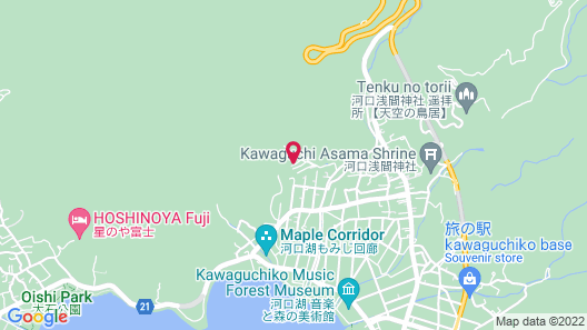 Kawaguchiko country cottage Ban Map