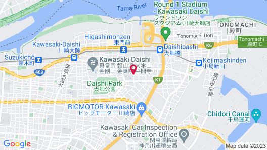 Hotel Imalle Haneda Map