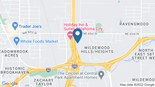 SureStay Plus Hotel by Best Western Oklahoma City North Map