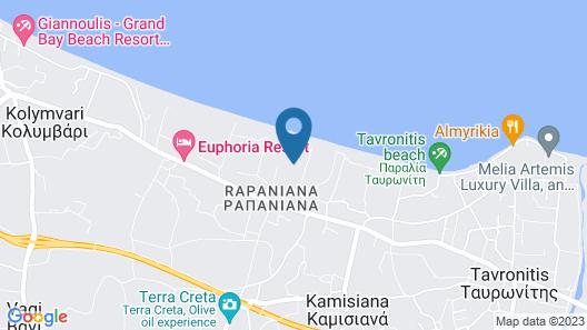Giannoulis – Cavo Spada Luxury Sports & Leisure Resort & Spa Map