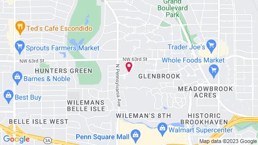 Renaissance Waterford Oklahoma City Hotel Map