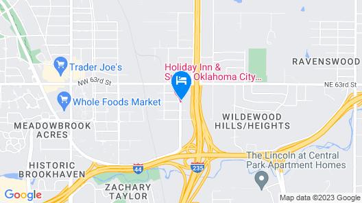 Holiday Inn Hotel & Suites Oklahoma City North, an IHG Hotel Map