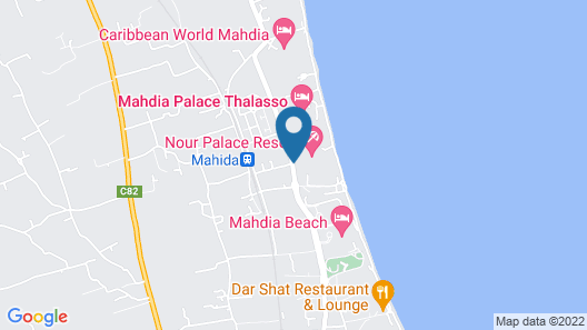 Nour Palace Thalasso & Spa - All Inclusive Map