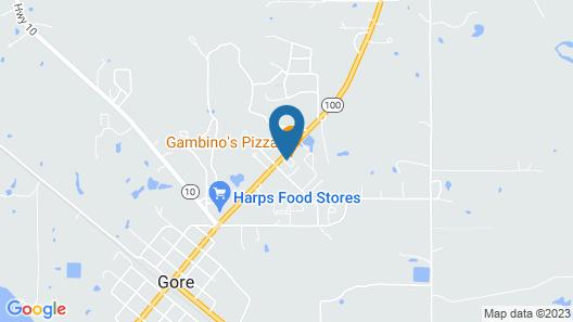 Suite 16 Motel Map