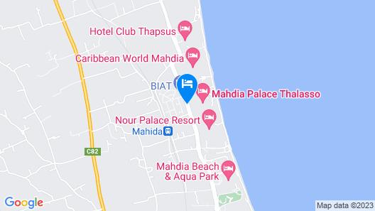 Mahdia Palace Thalasso Map
