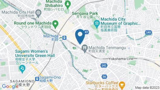 Rembrandt Hotel Tokyo Machida Map