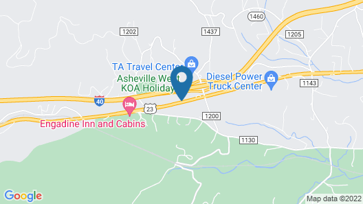 Days Inn by Wyndham Asheville West Map